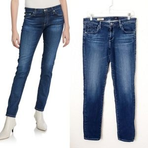 AG the Stilt  Cigarette Leg Distressed Jeans 164